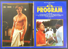 FOTOBUSTA 5, THE PROGRAM, JAMES CAAN, HALLE BERRY, SWANSON, EPPS, SPORT  POSTER