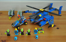 Lego Jet Copter Encounter Alien Complete With Minifigures 7067 & 7050 2011 Toy