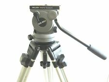 MILLER DS-25 COMMERCIAL GRADE TRIPOD DIGITAL SUPPORT FLUID HEAD & FLOOR SPREADER