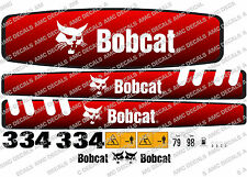 BOBCAT 334 MINI PELLE DECAL SET