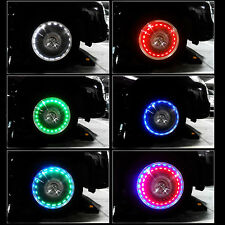 Waterpoof Solar Energy LED Car Auto Flash Wheel Tire Valve Cap Neon Light Lamp