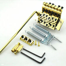 Gold Plated Flody Rose Double Tremolo Bridge Double Locking System New