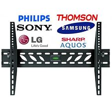TV Wall Mount Bracket Slim  23 28 32 34 37 40 42 inch LCD LED PLASMA HD MONITOR