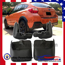 OE Style MUD FLAPS FLAP SPLASH GUARDS MUDGUARD for SUBARU XV CROSSTREK 11-16