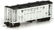 Athearn N Scale GATC 2600 Airslide Covered Hopper Car -Canada Donut #42594