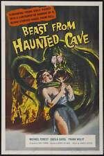 BEAST FROM HAUNTED CAVE Movie POSTER 27x40 Michael Forest Sheila Noonan (as