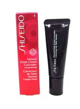 Shiseido Natural Finish Cream concealer Long Lasting ~ 5 Deep Bronze  ~ 0.44 oz
