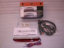 NEW HARLEY TOURING AIR WING TOUR PAK LUGGAGE RACK LED LIGHT RED LENS