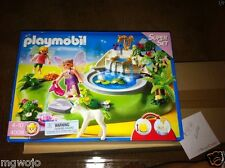Playmobil Geobra FAIRY FOUNTAIN MAGIC CASTLE SUPER SET 4008 New in Box