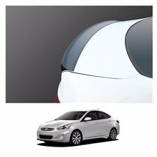 New Rear Trunk Wing Lip Space Spoiler for Hyundai Accent 2012-2016 - Black