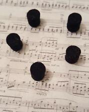Feutre noir Ø8 pour sourdine de saxophone etc...(felt)