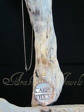 Original Sterlina mi Milano necklace/pendant Carpe Diem & Pearl coins/moneda ajmm