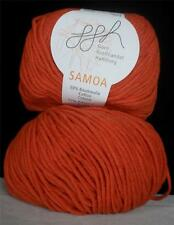 COTTON ACRYLIC GGH SAMOA MEDIUM WORSTED WEIGHT 50 GR 9 BALLS SEA CORAL (13D)