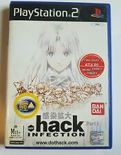 ps2 dot HACK PART 1 Infection PAL English Playstation PAL