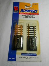 HO TRAIN LIFE-LIKE BRASS TRACK 2 ILLUMINATED BUMBERS NEW IN PKG!