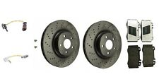 Mercedes W211 E350 E500 Complete Front Brake Kit Rotors & Pads Pagid / Brembo