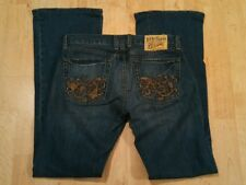 Lucky Brand Lily Floral Boot Jean Size 2