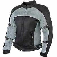 Womens Mesh Sports Armored Motorcycle Jacket CF-507