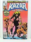 Marvel Comics Comic Book Ka-Zar the Savage #1 (Apr 1981, Marvel) F+