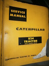 Caterpillar 824 36H1 TRACTOR 1963 : Service Manual