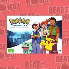 Pokemon: Seasons 1 - 2 Limited Edition Collection  - DVD - NEW Region 4
