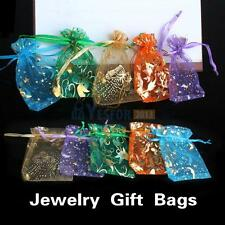 50pcs Mini Organza Jewelry Candy Multi Color Gift Pouch Bags Wedding Party Favor