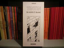 Tintin en noir et blanc - Coffret - 9 tomes en petit format - BD