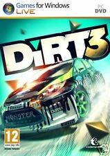 Dirt 3 Game for PC XP/Vista/7/8 Brand New Factory Sealed