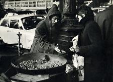 Photo Argentique de Pierre Parente Paris Bd Haussmann Février 1963