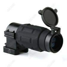 3X Magnifier Scope Twist Mount Module Sight for red dot