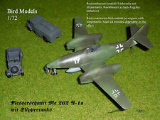 Messerschmitt Me 262 m. Slippertanks 1/72 Bird Models Umbausatz / conversion kit