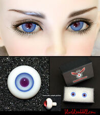 14mm bjd sky blue with violet  high quality glass doll eyes dollfie #YS-25