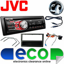 Vauxhall CORSA C 2004-2006 Jvc Auto Radio Stereo UPGRADE KIT CD MP3 AUX NERO