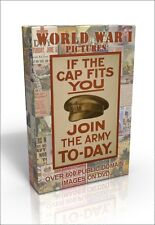 World War 1 - over 600 public domain images on DVD. Your country needs you!