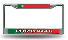 FIFA Portugal Chrome Metal License Plate Frame Cover World Cup Soccer Football