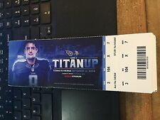 2016 TENNESSEE TITANS VS MINNESOTA VIKINGS TICKET STUB 9/11 DERRICK HENRY DEBUT