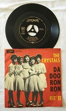 "RARE GERMANY 7"" THE CRYSTALS DA DOO RON RON LONDON DL 20 706 PHIL SPECTOR SOUND"