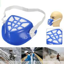 Anti Dust Respirator Cotton Filter Cartridge Gas Paint Dust Spray Half Face Mask