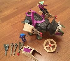 Dino Riders Triceratops Flaws