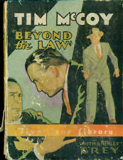 TIM McCOY Beyond the Law (1934) Five Star Library BLB illustrated w/movie photos