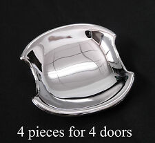 4 X CHROME DOOR INSERTS TRIMS TOYOTA HILUX VIGO MK6 SR5 NEW 2006 - 2012 07 08 09