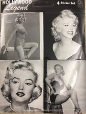 "Marilyn Monroe Sticker Set Of Four 2.25""x2.5"""