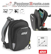 Borsello da gamba Givi EA109b Buell 1125 Cyclone S1 X1 Lightning Xb12 Xb9