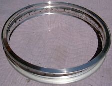 WM3 2.15 X 19 -36 hole Akront/Italian style flanged alloy vintage motorcycle rim