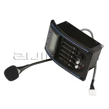 Acoustic 4-Band Guitar Preamp EQ Equalizer Piezo Pickup Tuner + Microphone