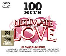 100 HITS-ULTIMATE LOVE - RICK ASTLEY, ANITA HARRIS, DOLLY PARTON - 5 CD NEU