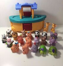 Fisher Price Little People Lot Noahs Ark Noah plus 20 Animals Expansion Pack