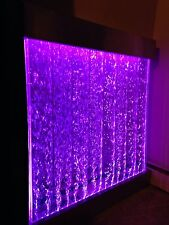 "BUBBLE PANEL XXL 48""x44"" WALL BUBBLE FOUNTAIN color Lights, Remote ctrl $100 OFF"