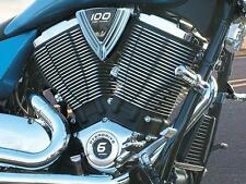 Kuryakyn 7685 Chrome Smooth V Shaped Covers for Victory 2004-2016