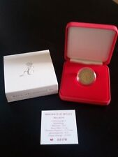 "Monaco 2 euro comm. BU coin 2011 ""Wedding Albert & Charlene"" New in box + COA"